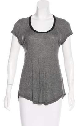 Etoile Isabel Marant Striped Short Sleeve Top