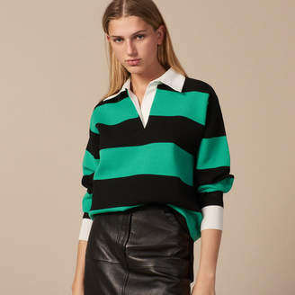 Sandro Regular-fit polo style sweater
