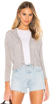 Autumn Cashmere Easy Crop Cardigan
