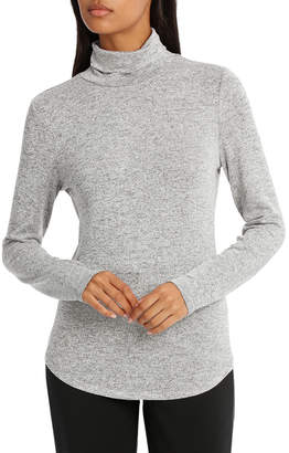 Basque Roll Neck Marle Long Sleeve Tee