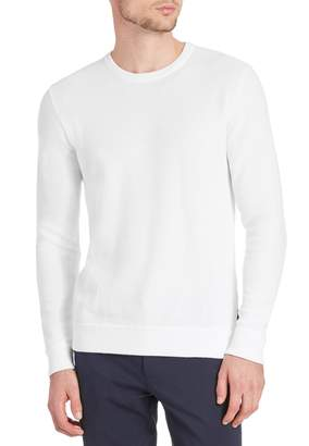 Michael Kors Pique-Stitch Cotton Sweatshirt