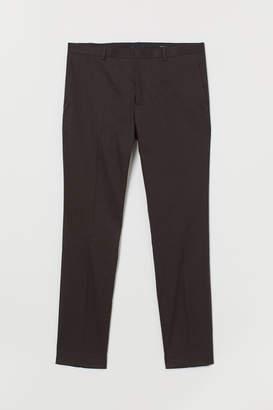 H&M Suit Pants Super Skinny fit - Gray