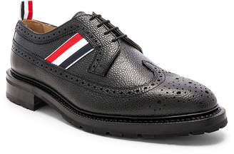 Thom Browne Pebble Grain Classic Longwing Brogues