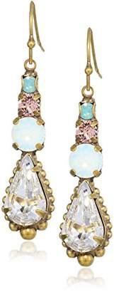 Sorrelli Women's Lotus Drop Earrings
