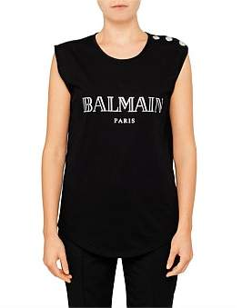 Balmain Logo Tank