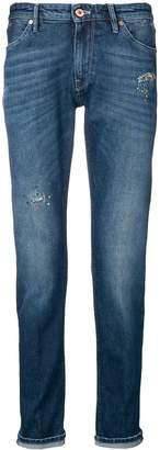 PT05 distressed skinny-fit jeans