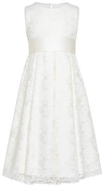 John Lewis & Partners Girls' Charlotte Lace Bridesmaid Dress, Ivory