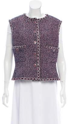 Chanel 2016 Tweed Vest