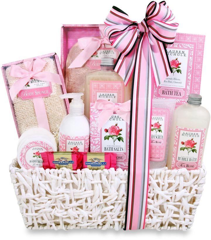 Bed Bath & Beyond12 Roses Spa Gift Basket by Alder Creek Gift Baskets