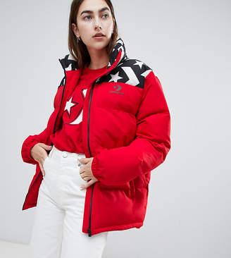 Converse Oversized Exclusive Red Padded Jacket
