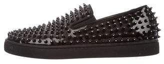 Christian Louboutin Roller Spiked Sneakers