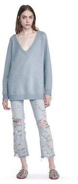 Alexander Wang Cashwool V-Neck Sweater