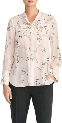 Rachel Roy Collection Print Pocket Blouse