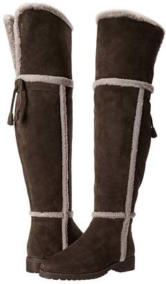 Frye Tamara Shearling Over The Knee Women's Pull-on Boots