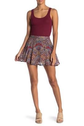Raga Desert Flower Mini Skirt