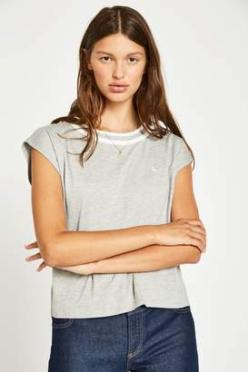 Jack Wills Haycombe Contrast Neck T-Shirt