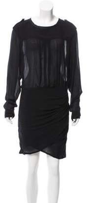 Etoile Isabel Marant Draped Knee-Length Dress