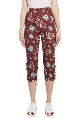 I'M Isola Marras Floral Print Capri Pants