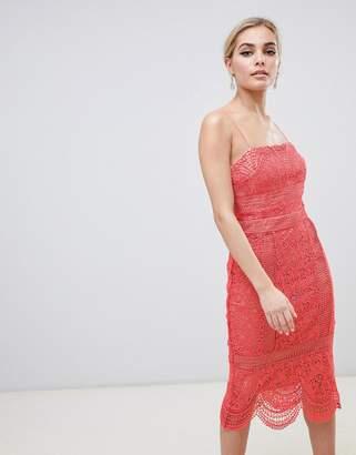 Style Stalker Stylestalker Amelie Lace Pencil Dress