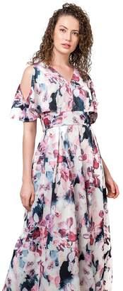 Plains and Prints Womens x Mark Bumgarner Franceska Maxi Dress