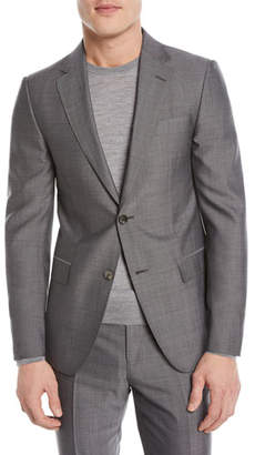 Z Zegna Tic Wool Two-Piece Suit
