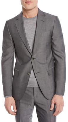 Ermenegildo Zegna Tic Wool Two-Piece Suit
