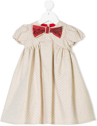 La Stupenderia polka dot dress