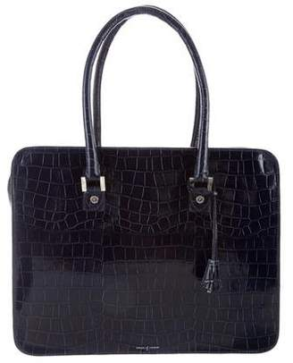 Aspinal of London Embossed Structured Bag