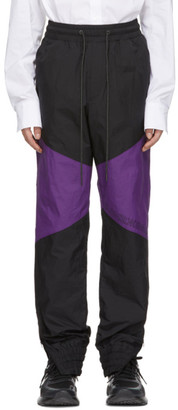 D.gnak By Kang.d Black Colorblock Lounge Pants