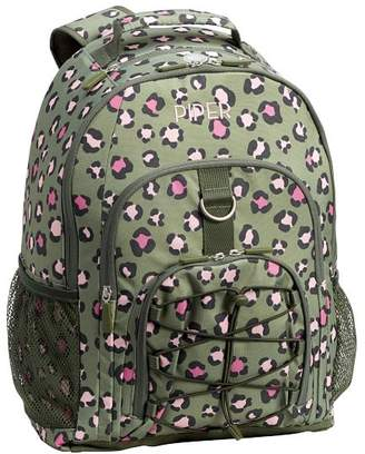 Pottery Barn Teen Gear-Up Olive Leopard Backpack