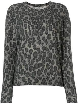 Majestic Filatures leopard print jumper