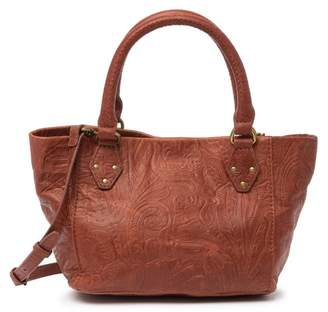 AMERICAN LEATHER CO. Frenchie Convertible Mini Leather Satchel