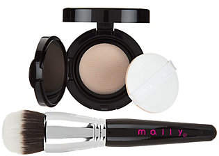 Mally Beauty A-D Mally Flawless Finish Foundation w/ BrushAuto-Delivey