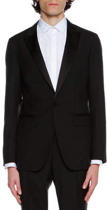 Lanvin Shawl-Collar Tuxedo Jacket, Black