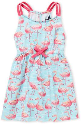 Nautica Girls 4-6x) Flamingo Print Dress