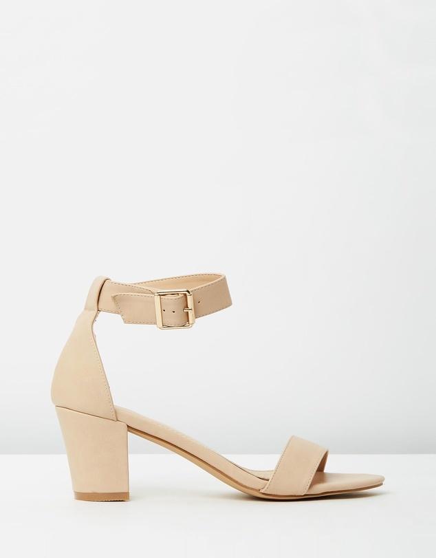 Nude Sandal Heels - ShopStyle Australia