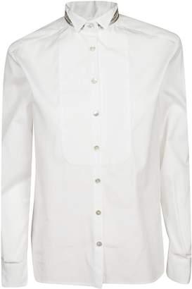 Barba Napoli Contrast Trim Shirt
