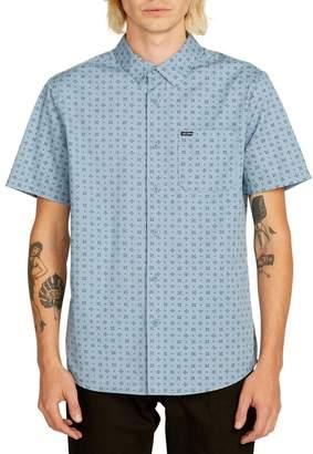 Volcom Salt Dot Print Woven Shirt