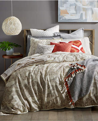 Lucky Brand Closeout! Leila Paisley Reversible Twin Comforter Set, Created for Macy's Bedding