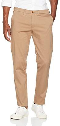 Gant Men's Tailored Slim Satin Slacks Jeans,(Size: 56)