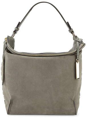 Vince Camuto Textured Leather & Suede Hobo Bag