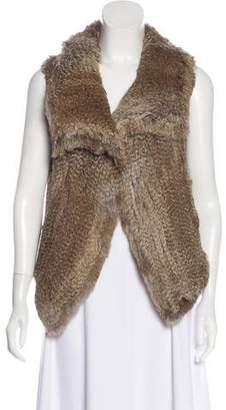Calypso Woven Fur Vest