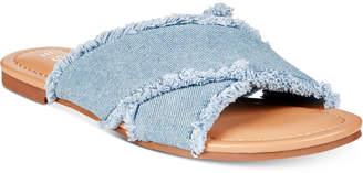Esprit Francis Flat Slide Sandals Women's Shoes
