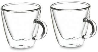 Grosche Turin Double Shot Double Walled Espresso Mug Two-Piece Set