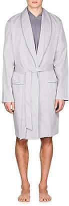Hanro Men's Sky Cotton Robe