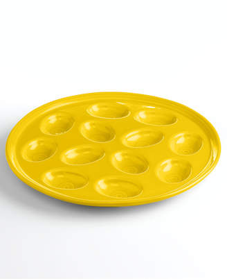 Fiesta Sunflower Egg Plate