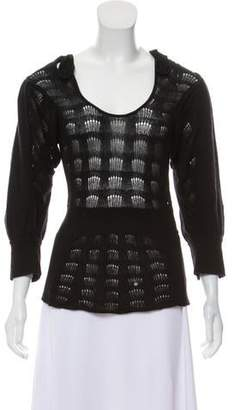 Mayle Knit Long Sleeve Top