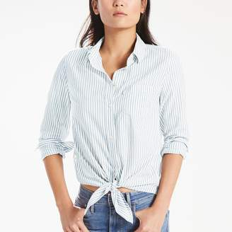 Levi's Levis Women's Tie-Front Denim Shirt