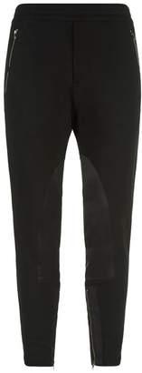 Alexander McQueen Multi-Textured Patch Sweatpants