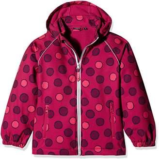 Name It Girl's Nitalfa Softshell Jacket Fuch Dot NMT